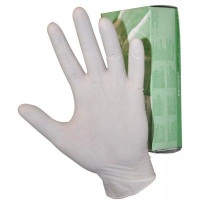 Перчатки латексные тонкие не стерильные
