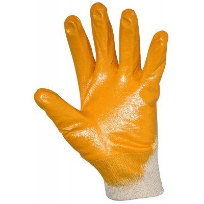 Перчатки х/б с нитриловым покрытием , уплотненные