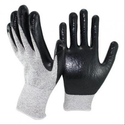 Перчатки нейлоновые с покрытием против порезов Profitech Dy1350