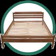 Кровати с ламелями