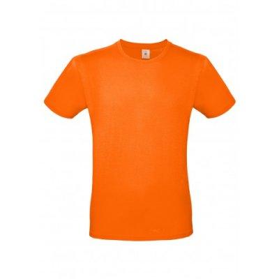 Футболка B&C оранжевая