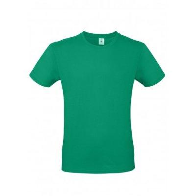 Футболка хлопковая зеленая