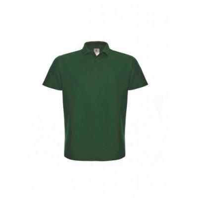 Тенниска унисекс бутылочно-зеленая