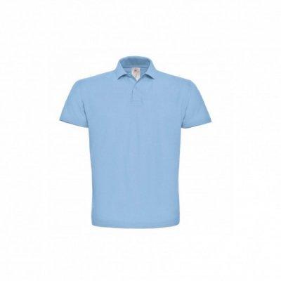Тенниска унисекс небесно-голубая