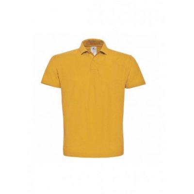 Тенниска унисекс желто-горячая