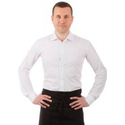 Рубашка официанта мужская белая