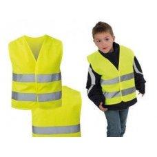 Детский светоотражающий жилет желтый