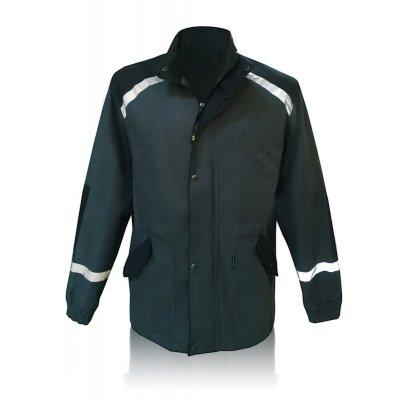 Куртка рабочая темно-синий со светоотражающими вставками