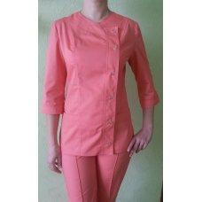 Медицинский костюм женский розовый