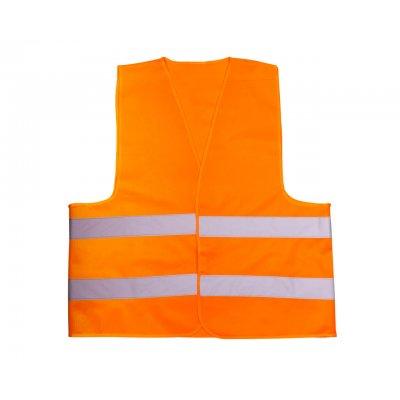 Жилет сигнальный оранжевый полиэстер