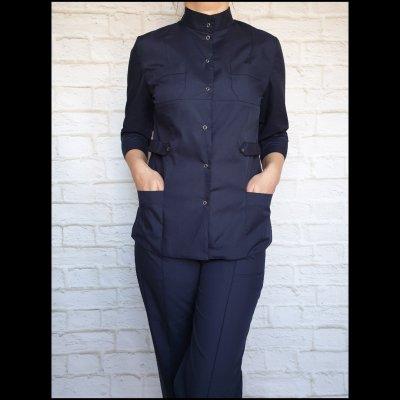 Медицинский костюм женский коттон (разные цвета)