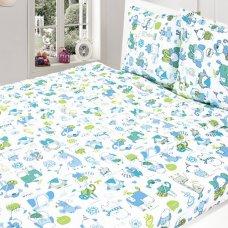 Комплект постельный детский (100х145) бязь набивная