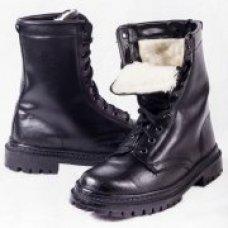 "Ботинки хромовые с високими берцами ""ЛЕГИОН"" на меху"