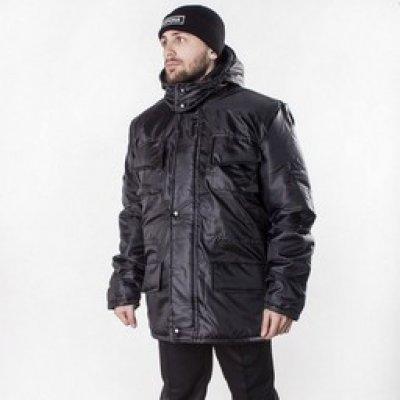 """Куртка """"Охрана-Люкс"""" под заправку камуфляж"""