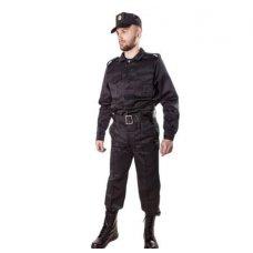 """Костюм """"Охрана-Люкс"""" черный под заправку"""