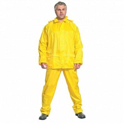 Костюм влагозащитный рабочий цвет желтый