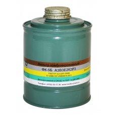 Коробка фильтрующая к противогазу марки А3В3Е2К2Р3