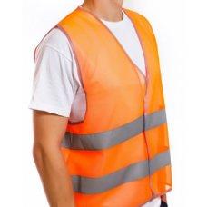 Жилет рабочий сигнальный оранжевый