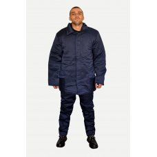 Зимний рабочий костюм синий