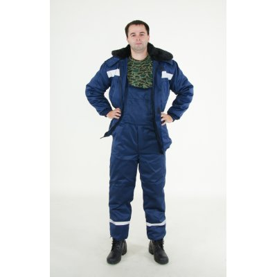 Утепленный рабочий костюм комбинированный