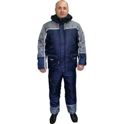 Рабочий утепленный костюм синий