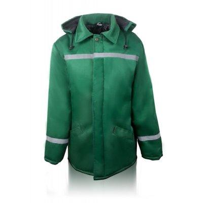 Куртка утепленная зеленая свп