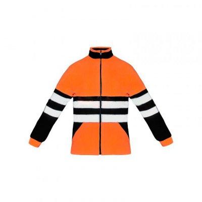 Куртка флисовая сигнальная Лайт-Плюс