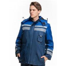 Куртка рабочая утепленная Сигнал-Люкс синяя
