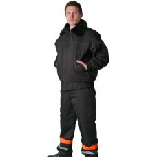 Зимний костюм рабочий - полукомбинезон и куртка