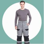 Рабочие зимние штаны (брюки)